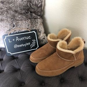 Ugg Plush Ankle Boot